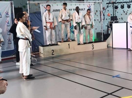 Kyu (ceintures de couleurs sauf noires) de St Thibault du 07 avril 2018